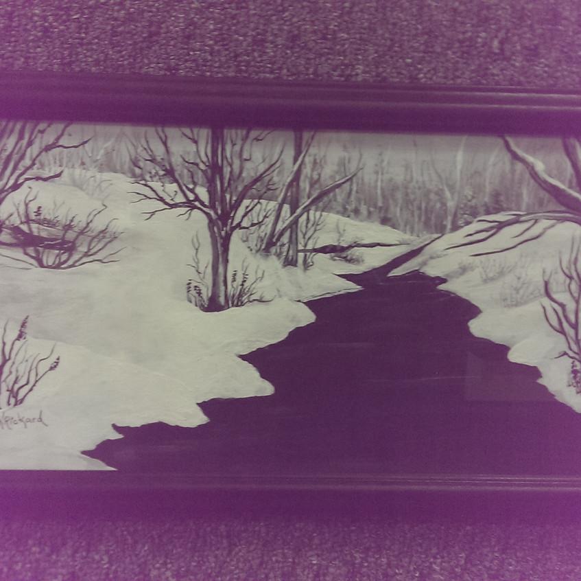 Rickard snow scene