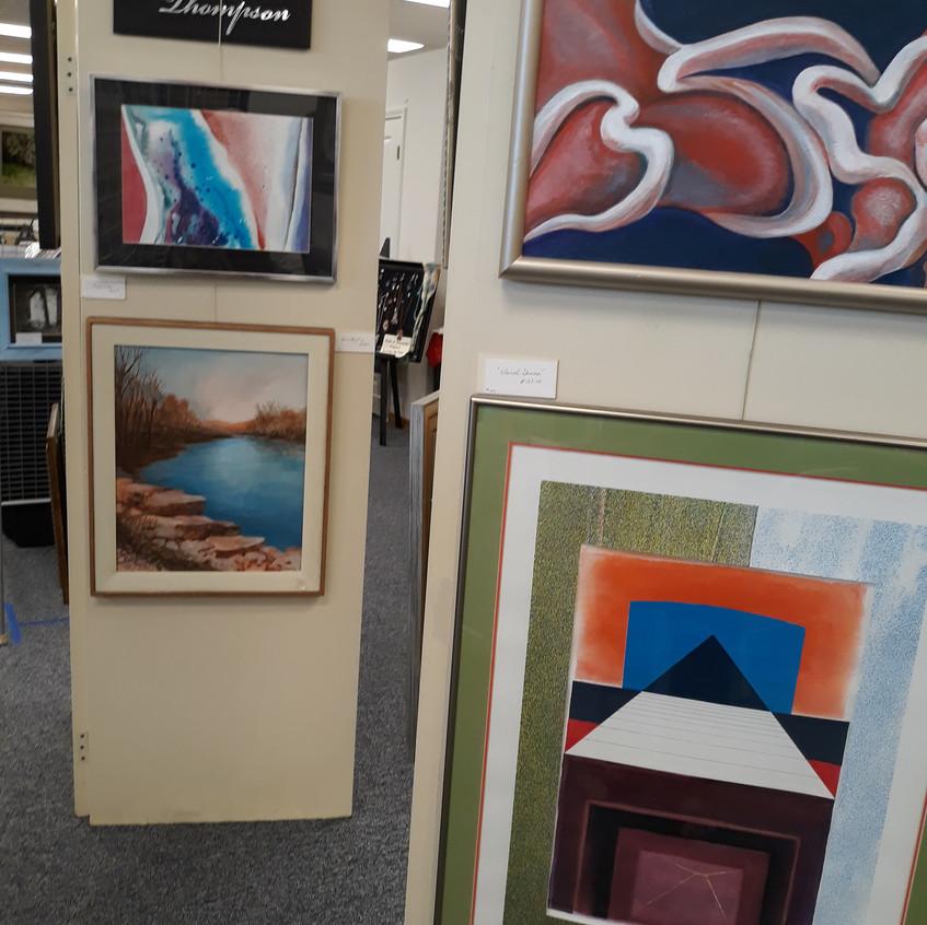 Jon Thompson's abstracts
