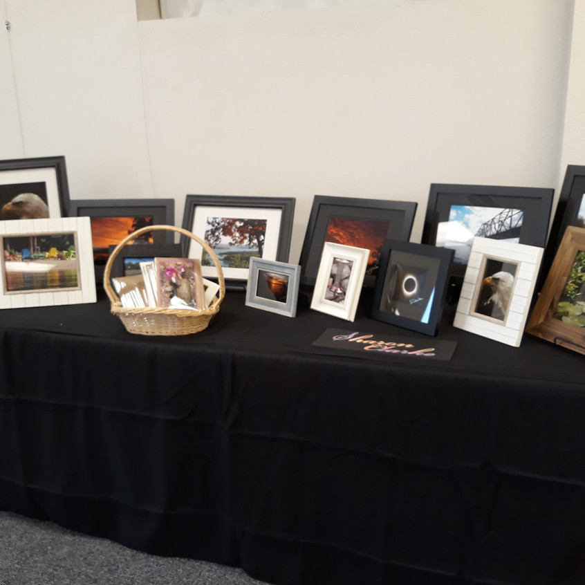 Sharon Clarke's display
