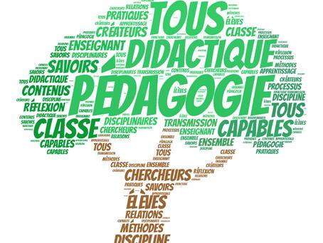 Didactique et pédagogie en bref