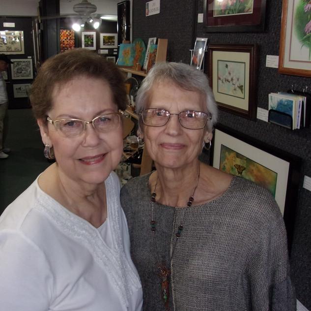 Karen Deeds and Helen Long