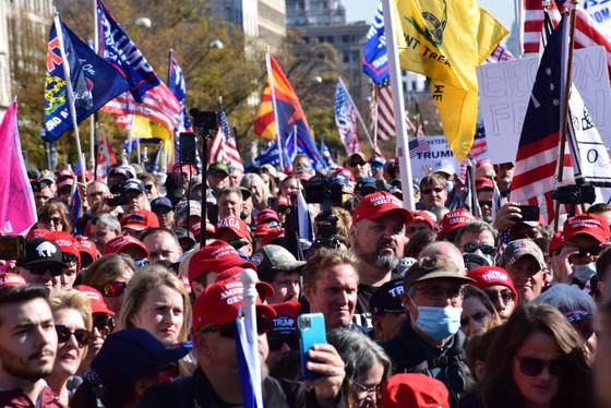 Americans Protest Voter Fraud