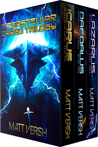 Matt Verish   Link to Daedalus, book two of the Interstellar Cargo series