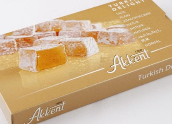 Akkent Turkish Delight plain 400g