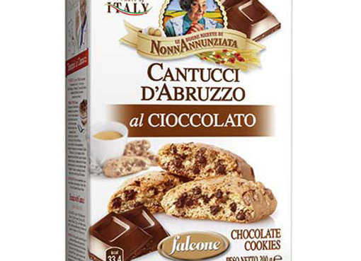 Falcone Cantucci chocolate 250g