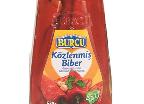Burcu Közlenmiş Biber 560 ml