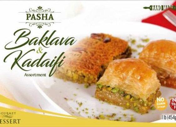 Pasha Baklava & Kadaifi Assortment Pistachio 12 x 454gr