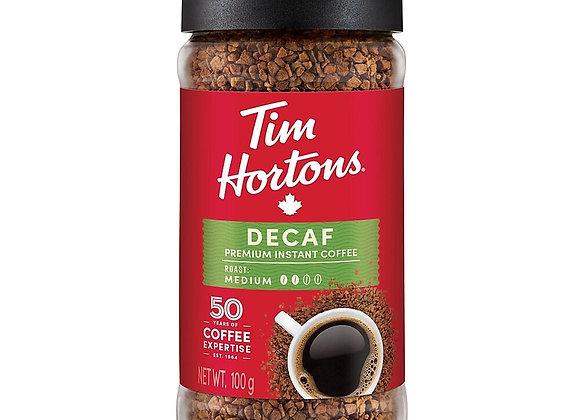 Tim Hortons premium instant coffee 100g