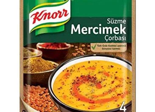 Knorr lentil soup 4p
