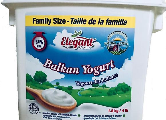 Elegant Balkan yogurt 1.8lt