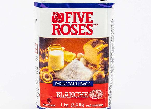Five roses white flour 1kg