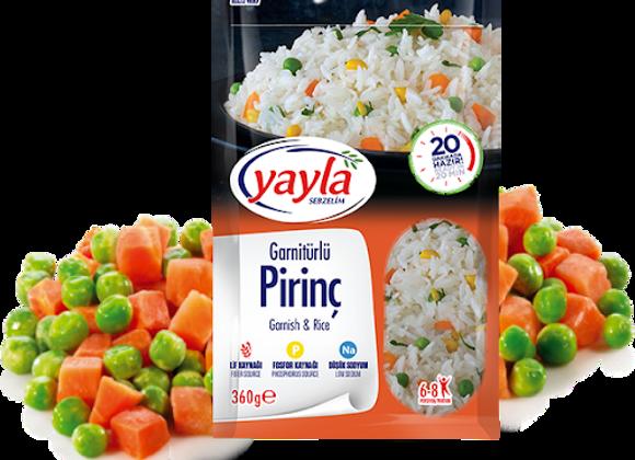 Yayla garnish & rice 8p