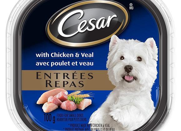 Cesar chicken & veal 100g