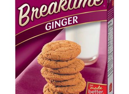 Dare break time cookies ginger 250g