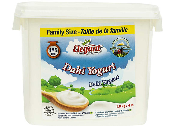 Elegant %3.25 whole & Dahi Yogurt 1.8Lt X 4 Pcs