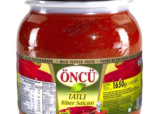 Oncu sweet pepper paste 1650g