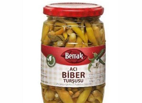 Berrak hot pepper pickle 650g