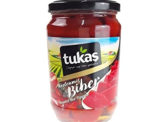 Tukas roasted peppers 680g