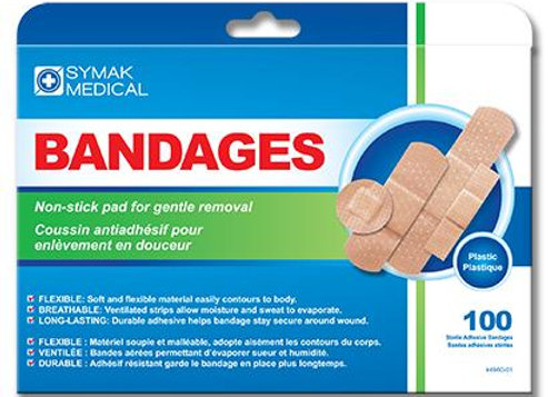 Symak medical bandages 100p