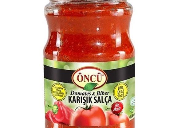 Oncu tomato & pepper mix paste 700g