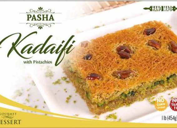 Pasha Kadaifi Pistachio 454g x 12 p