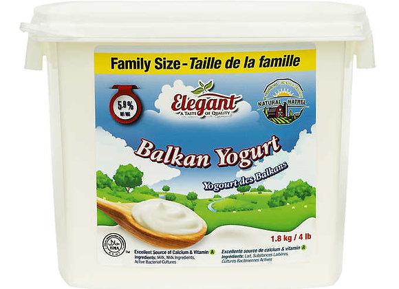 Elegant %5.9 Balkan Yogurt 1.8Lt. X 4pcs