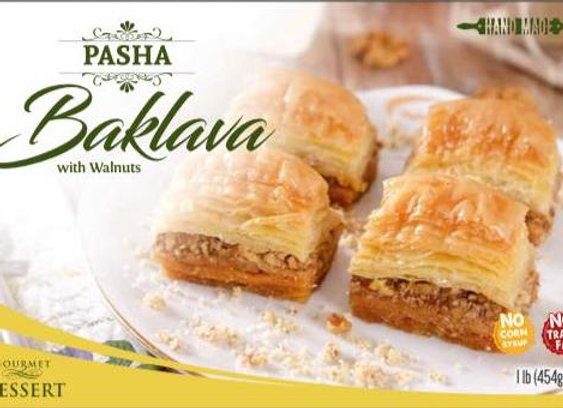 Pasha Baklava Walnuts 454g x 12 p