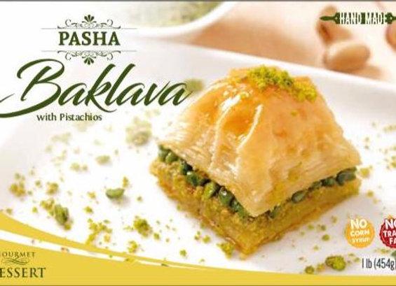 Pasha Baklava Pistachio 454g x 12 p