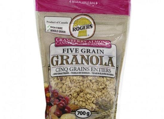 Rogers granola cream almond 700g