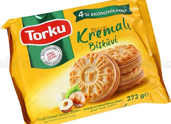 Torku bisküvi & cream 244g