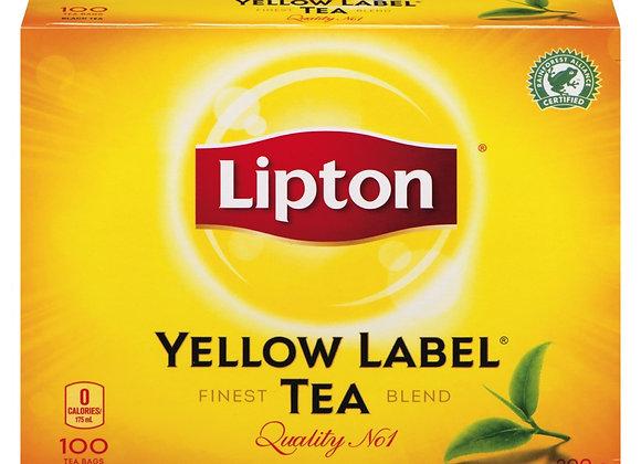 Lipton yellow tea 100 bag 200g