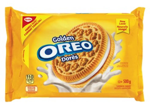 Oreo biscuit golden 303g