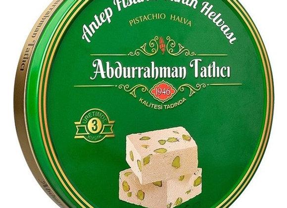 Abdurrahman tatlici tahin halva & pistachio 650g