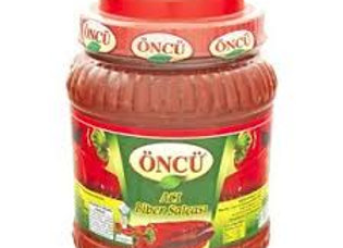 Oncu hot pepper paste 1650g