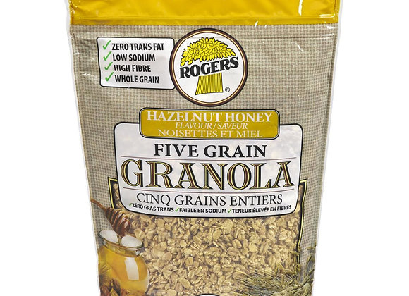 Rogers granola hazelnut honey 700g
