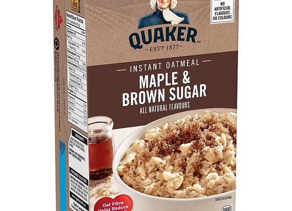 Quaker maple & brown sugar 344g