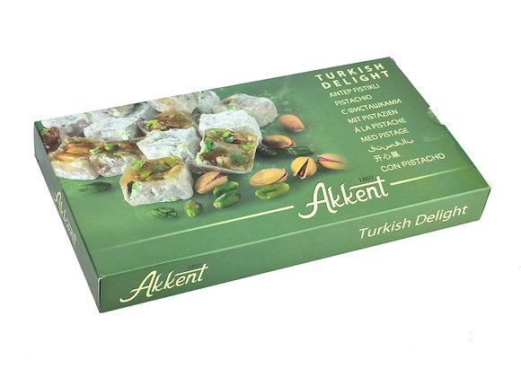 Akkent Turkish Delight Pistachio 400g