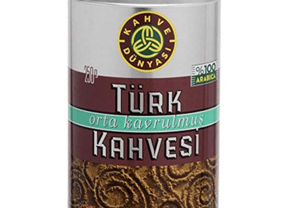 Kahve dunyasi Turkish coffee (orta kavrulmus) middle roasted 250g