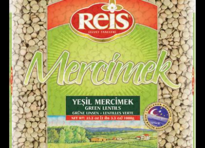 Reis Green Lentils 1kg