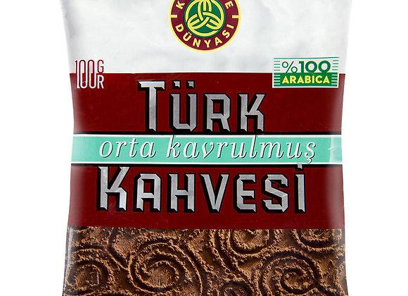 Kahve dunyasi Turkish coffee (orta kavrulmus) middle roasted 100g