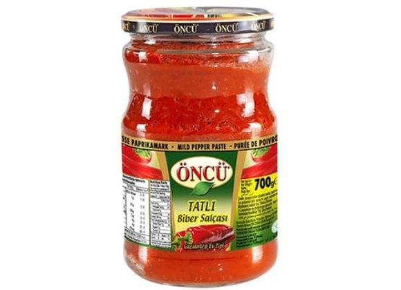 Oncu sweet pepper paste 700g