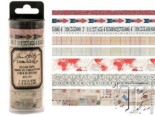 Tim Holtz Design Tape- Postal