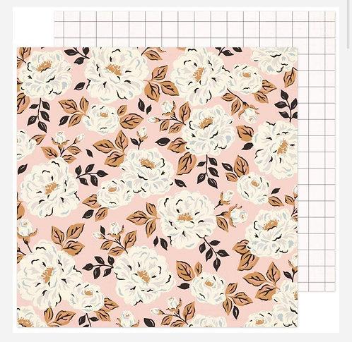 Flora 12x12 paper- Fresh Bouquet