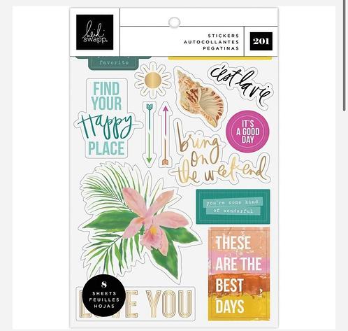 Art Walk Stickers- Heidi Swap