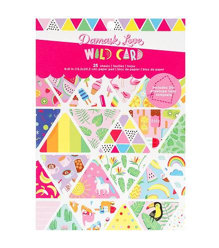 Paper Pad 6x8 Wild Card
