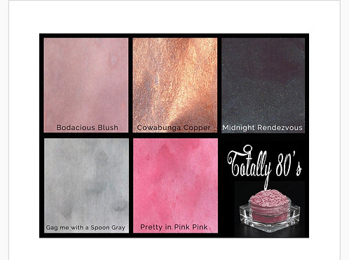 Lindys Magicals Shimmer Powders -Totally 80's