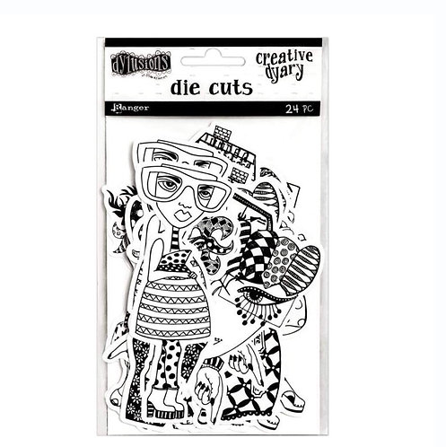 Creative Dyary Die-Cuts -Dylusions
