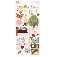 Willow sticker sheet