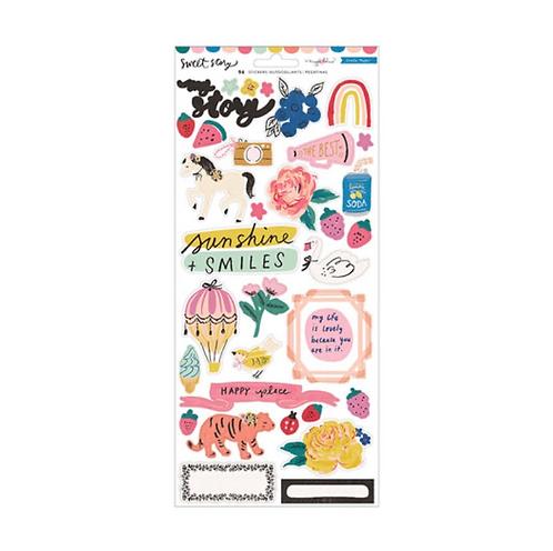 Sweet Story 6x12  sticker sheet