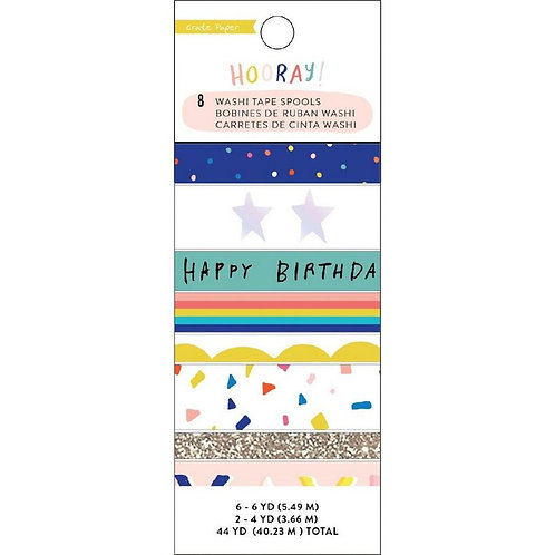 Hooray Washi tape- Crate Paper